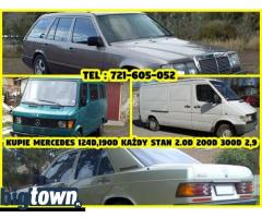 Kupie Mercedes 124d,190d Każdy Stan 2.0D 200d 300d 2,9
